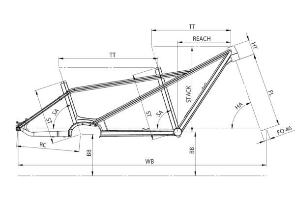 bike geometry picture